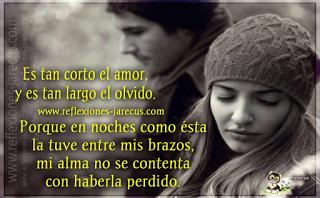 Reflexiones de amor,