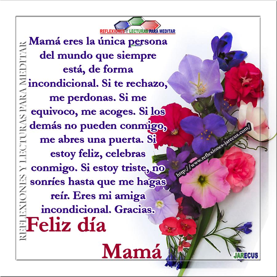 Eres Mi Amiga Incondicional Feliz Día Mamá Reflexiones Y Lecturas