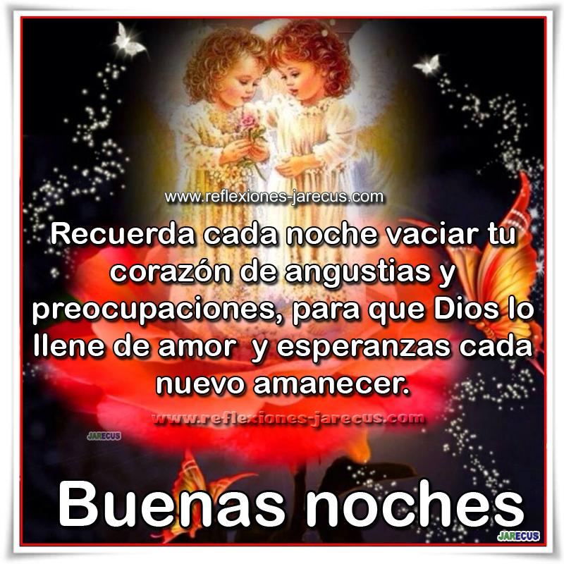 Que Dios Te Llene De Amor Buenas Noches Frases En Imágenes