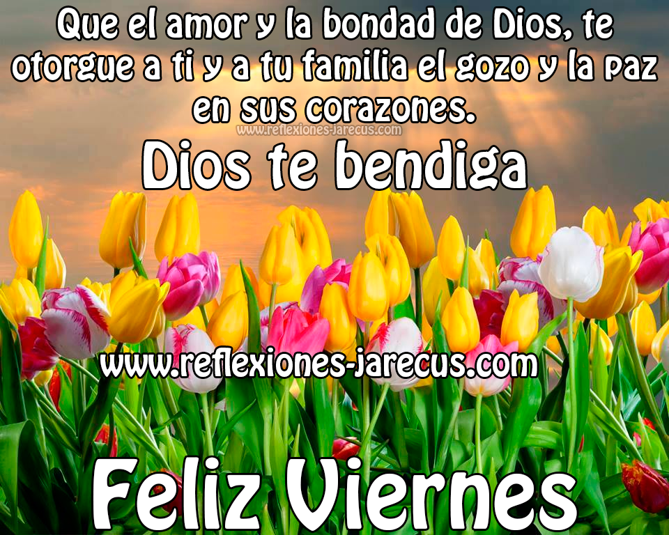 Feliz Viernes Dios Te Bendiga Feliz Viernes
